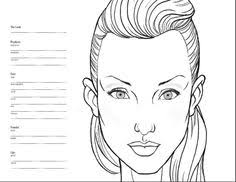338 Best Face Chart Images Face Makeup Face Charts