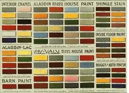 Interior Color Chart Arts Crafts Color Schemes Arts Crafts Interiors