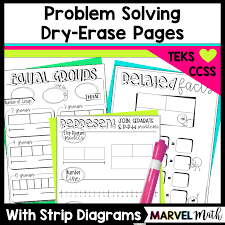 problem solving using strip diagrams with word problems