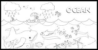 Ocean Coloring Pages To Print Free Printable Ocean Coloring Pages
