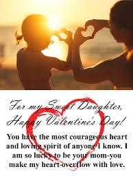 happy valentine s day daughter. Simple Day Loving Happy Valentineu0027s Day Card For Daughter Intended Valentine S E