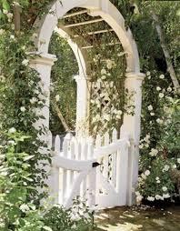 garden arch with gate wooden design garden arbor images