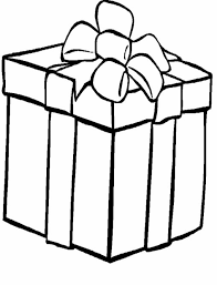 Small Picture Coloring Pages Christmas Present Coloring Santa Claus And