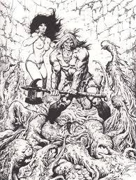 Brocal Remohi Ink Illustrations Pinterest Conan