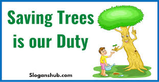 save trees slogans 4