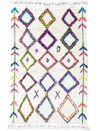 diamond moroccan shag rug