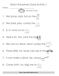 Best Images Of Sight Word Sentences Worksheets Simple Sentences ...