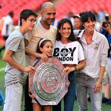 Pep Guardiola's wife returns to Spain after three years - taking one child  with her - Mirror Online