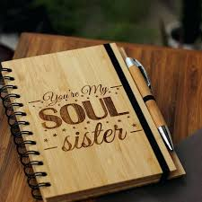 soul sister gifts best friend notebook for friends friendship present ideas presents