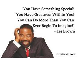 Les Brown Quotes Gorgeous Les Brown's Best 48 Motivational Quotes His Biography Net Worth