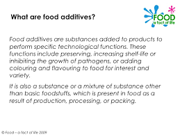 food additives ppt 3 what are food additives