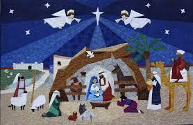 15 Artistic Nativity Scene Quilts | MyNativity.com - Christmas ... & Angelic Nativity Scene Adamdwight.com