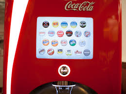 Coca Cola Touch Screen Vending Machine Impressive Soda We Try All 48 Flavors From The Coke Freestyle Machine