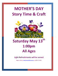 brewster public library mother s day story time