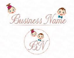Babysitter Logo Babysitter Logo Etsy