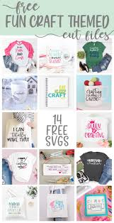 Download 227,662 christmas free vectors. Free Craft Themed Svg Cut Files For Silhouette And Cricut The Girl Creative