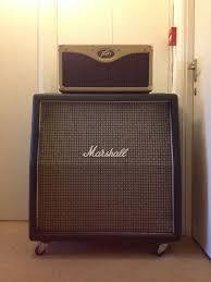 Peavey Classic Cabinet Peavey Classic 30 Head Amplifier Marshall 1960ax 4x12 Greenback