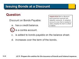 discount on bonds payable balance sheet acc102 chap10 publisher_power_point