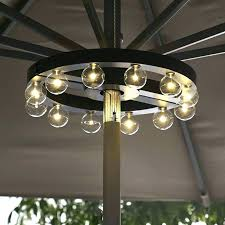 patio umbrellas with lights.  Umbrellas Solar Lights For Patio Umbrellas Powered Umbrella Light You Can Look Foot  Offset With Allen Roth  Awesome  On Patio Umbrellas With Lights S