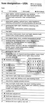 fuse box chart what fuse goes where peachparts mercedes shopforum under the hood driver s side near the power brake booster attached thumbnails fuse box