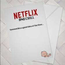 Congratulations On Your New Baby Card Funny New Baby Card Banter Netflix Chill Congratulations