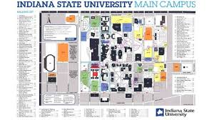 State Indiana Map Campus Fysiotherapieamstelstreek University