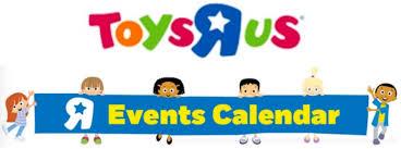 Event Calendar Amazing Toys R Us Canada FREE Family Events Calendar For January February