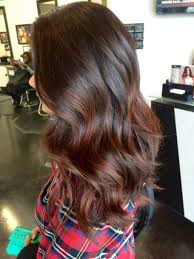 Auburn Ombre Highlights For Layered Brown