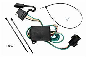 amazon com vehicle to trailer wiring harness connector for 03 06 kia sorento trailer wiring diagram at Kia Sorento Trailer Wiring Harness