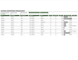Inventario Excel Inventario Magazzino