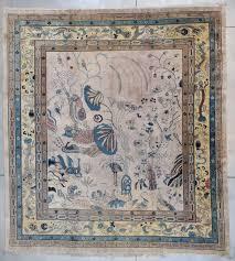 7807 art nouveau art deco chinese rug 12 0 x 13 2