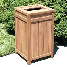 outdoor trash can holder outside storage cans shed for garbage with wheels wood plans outdoor trash can holder
