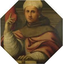 Museo Francescano Virtuale: San Bonaventura da Bagnoregio in una tavola del  Pordenone (1530-1535)