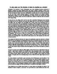 to what extent can the merchant of venice be seen as a fairytale  page 1 zoom in