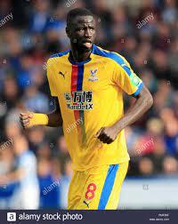 Crystal Palace's Cheikhou Kouyate Stock Photo - Alamy