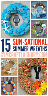 take a look at these 15 beautiful diy summer wreaths if you are looking for