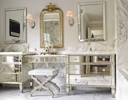 unique bathroom furniture. Two Mirrored Cabinets Have Been Joined Together To Create A Dazzling Bathroom Vanity. Unique Furniture M