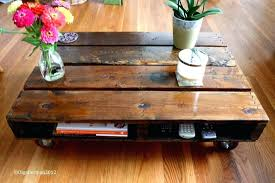 make your own coffee table crate coffee tables pallet make your own table decorating real house