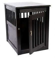 designer dog crate furniture ruffhaus luxury wooden. End Table Dog Crate - Black Large Designer Furniture Ruffhaus Luxury Wooden