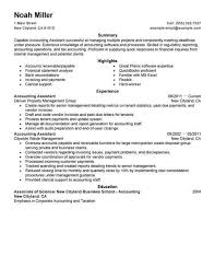 Accounting Clerk Resume Sample Example Job Description Template