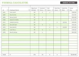 Free Download Payroll Check Stub Calculator Excel Format