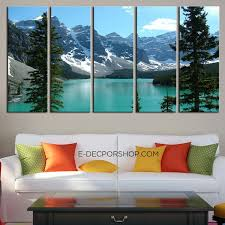 on extra large wall art canada with extra large wall art canvas print the rockies moraine lake framed 5
