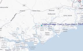 Dawho Bridge Dawho River South Carolina Tide Station