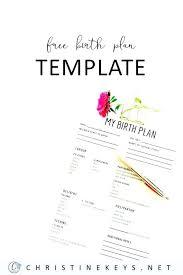 Sample Natural Birth Plan Natural Birth Plan Template Beautiful Visual Inspirational