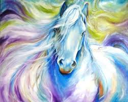horse oil paintings dream horse oil painting on canvas abstract white horse oil painting for bed horse oil paintings