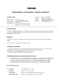 Examples Resumes Job Resume Sample Wordpad Cv Resume Template For