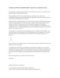 sample recommendation letter adjunct faculty cover letter templates adjunct faculty cover letter