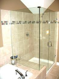 bathroom glass tile accent ideas room divider brown wall d61