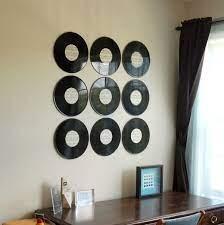 vinyl record wall art diy mom it