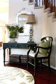 console decoration ideas best foyer table decor on decorating entertainment